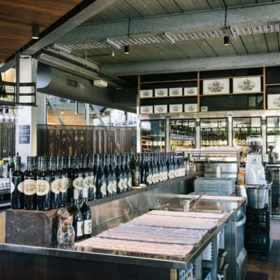 Kitchen & Bar with Wine Storage