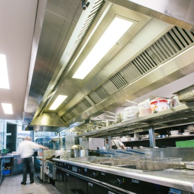 Commercial Kitchen Ceiling Design